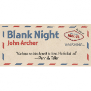 Blank Night (Yellow) by John Archer