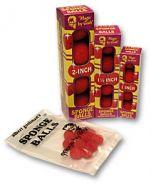 """2,5"""" Super Soft Sponge Ball (красные) в пакетике 4 шт от Goshman"""