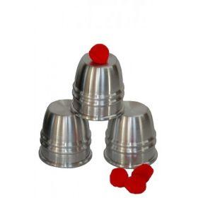 """Набор Cups and Balls (""""Чашки и мячики"""") алюминий"""
